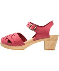 Moheda Toffeln BETTY Clogs red