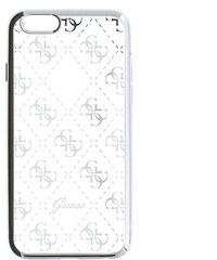Zadní kryt Guess 4G GUHCPSETR4GSI pro iPhone 5/5S/SE, stříbrný