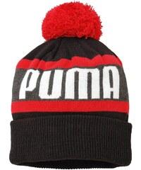 Puma Bonnet enfant Bonnet Word Beanie Black Red Jr -
