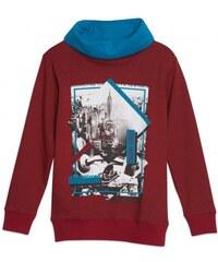 GATO NEGRO Jungen Pullover Sweatshirt rot aus Baumwolle