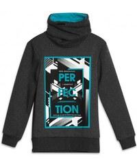GATO NEGRO Jungen Pullover Sweatshirt schwarz aus Baumwolle