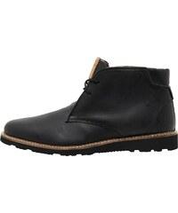 Original Penguin Herren Ince Leather Stiefel Schwarz