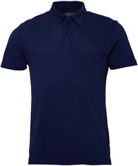 Peter Werth Mens Lombard Polo French Navy