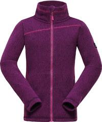 ALPINE PRO Dívčí svetr Eneaso - fialový