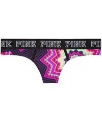 Victoria's Secret Sportovní tanga Logo Thong Panty