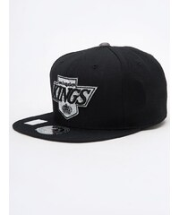 Mitchell & Ness Los Angeles Kings NHL Metallic High Crown Fitted Black