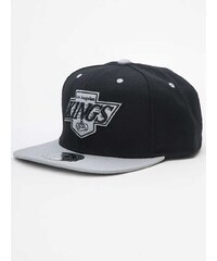 Mitchell & Ness Los Angeles Kings NHL Basic Tone High Crown Fitted Black