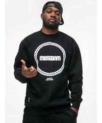 Mass Ring Crewneck Black