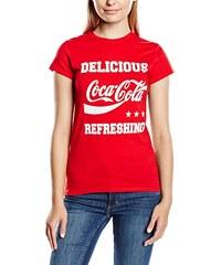 Coca-Cola Damen T-Shirt Delicious Refreshing