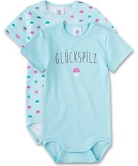 Sanetta Baby-Mädchen Body 322229, 2er Pack