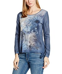 TAIFUN by Gerry Weber Damen Langarmshirt Metropolitan Night