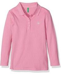 Benetton Mädchen Poloshirt 3bg8c3047