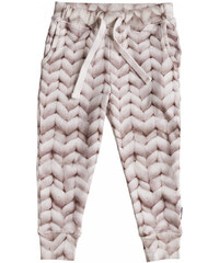 Růžové dívčí kalhoty Snurk Twirre, vel. 104