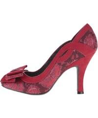Červené lodičky s mašlí Ruby Shoo Ivy