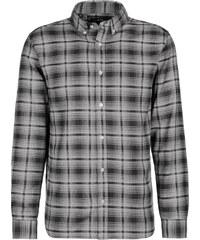 Selected SXHTwo Black Check Langarmhemd black/lgrey