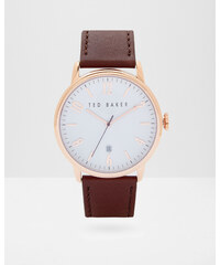 Ted Baker Leather strap watch Braun