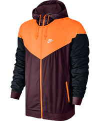 Nike Windbreaker marron/citrus