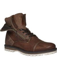 Baťa Kožené kotníkové boty se zipy