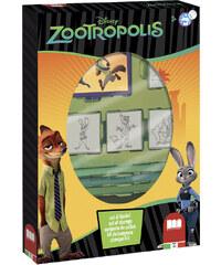 Disney Razítka Zootropolis, box 4 ks