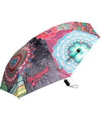Desigual Dámský skládací deštník Seduccio Caldera 67O56P7 7005