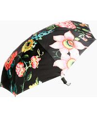 Desigual Dámský skládací deštník Britania Negro 67O56P3 2000