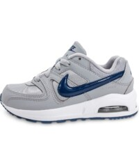 Nike Baskets/Running Air Max Command Bébé Grise Et Bleue Enfant