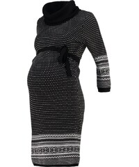 Anna Field MAMA Robe pull black/white