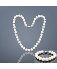 Buka Jewelry Buka Perlová souprava náramek a náhrdelník Mutiara 8 AAA 847