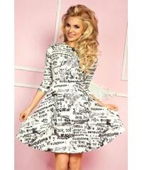 SAF Dámské šaty Samá novinka s širokou sukní