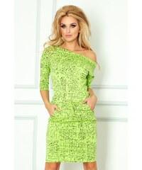 SAF Dámské šaty Papirus zelené