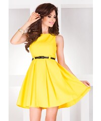 SAF Dámské šaty Elegantis žluté