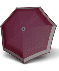 Doppler Dámský skládací plně automatický deštník Carbonsteel Magic rete - vínový 744765RE01