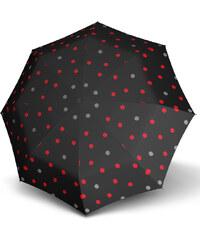 Doppler Dámský skládací plně automatický deštník Hit Magic Trio - černý s puntíky 7440265PT02-2