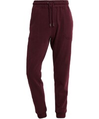 Burton Menswear London PEACHED Jogginghose burgundy