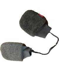 Broel Dětské rukavice Polarek - šedé