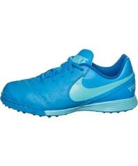 Nike Performance TIEMPO LEGEND VI TF Chaussures de foot multicrampons blue glow/polarized blue/soar