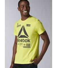 Reebok Tshirt de sport hero yellow