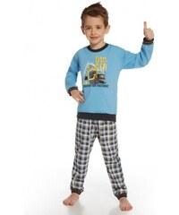 Dětské pyžamo Cornette 593/46 Digger Světle modrá