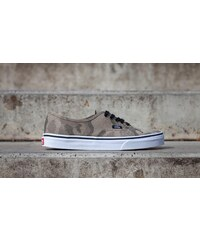 Vans Authentic (Camo Jacquard) Raven/ True White