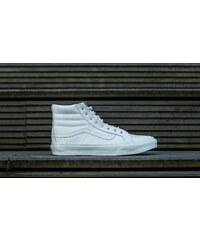 Vans Sk8-Hi Slim (Rivets) Antique Silver/ True White