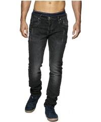 Jeansnet Jeans Jeans fashion homme 8309 Noir