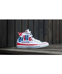 Converse Chuck Taylor All Star Hi Andy Warhol White/ Red/ Blue