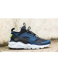 Nike Air Huarache Run Ultra Midnight Navy/ Ghost Green-Black-Pure Platinum