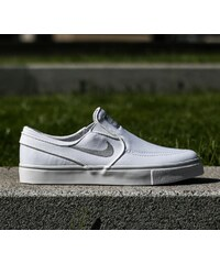 Nike Zoom Stefan Janoski Slip Canavas White/ Wolf Grey-White