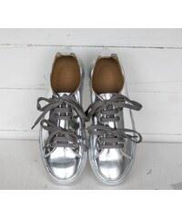 Marco Laganà Sneaker Low Silver/ Silver