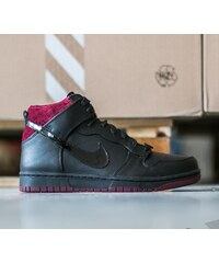 Nike Dunk Comfort Premium QS Black/ Black- Team Red