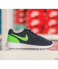 Nike Roshe One (GS) Obsidian/ Voltage Green-Lucid Green-White