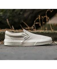 Vans Classic Slip-On + Snake Leather Antigue White