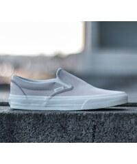 Vans Classic Slip-On (Leather) White Spring Powder/ Blanc