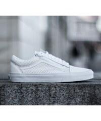 Vans Old Skool Zip (Perf Leather) True White